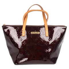 Louis Vuitton Bellevue PM Bag Patent Leather - burgundy red