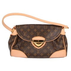 Louis Vuitton Beverly MM Monogram Bag - brown
