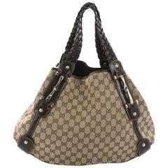 Gucci Pelham Shoulder Bag GG Canvas Medium