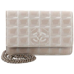 Chanel Travel Line Wallet on Chain Quilted Nylon
