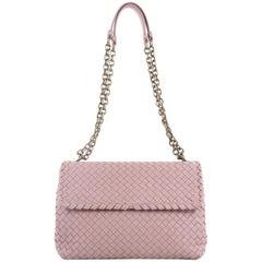 Bottega Veneta Olimpia Crossbody Bag Intrecciato Nappa Medium