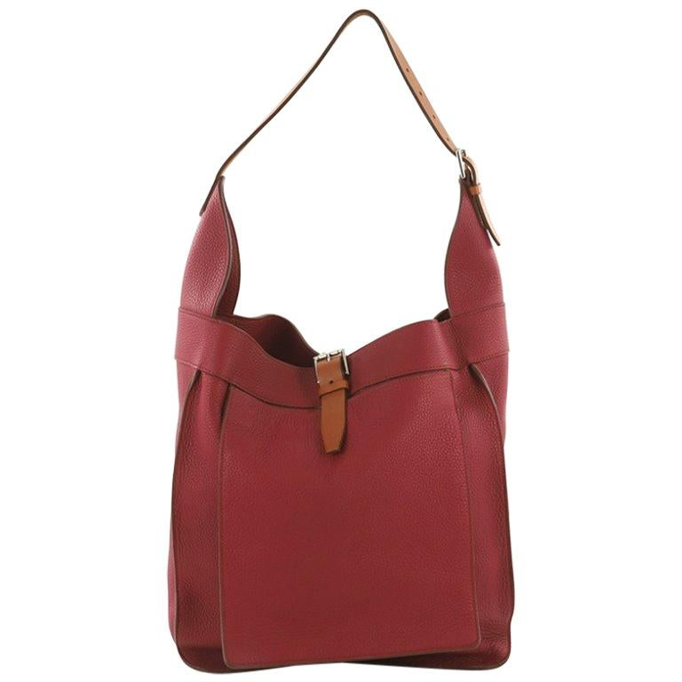 693acd46ae3f Hermes Marwari Handbag Clemence GM For Sale at 1stdibs