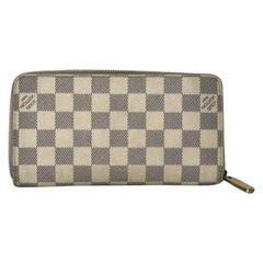 Louis Vuitton Damier Azur Zippy Wallet