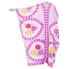 Böhmischer Kimono Duster aus 1950er Baumwolle Chenille