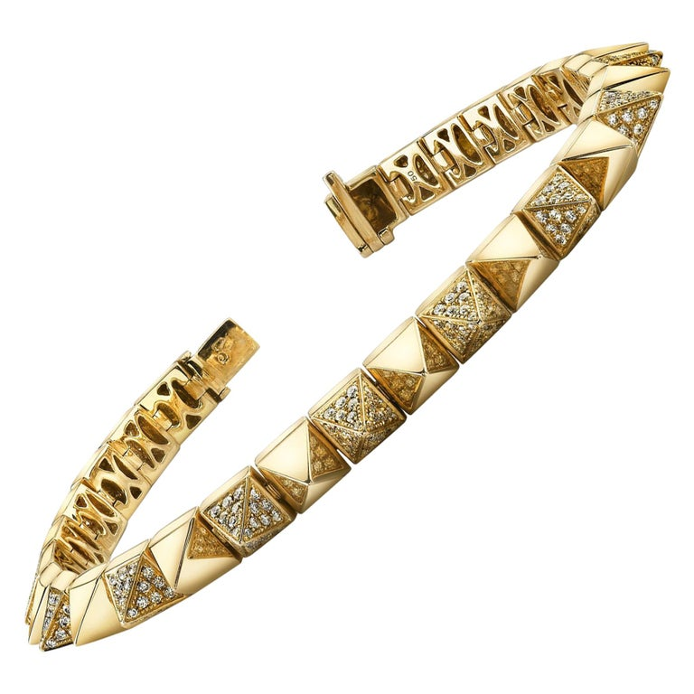 Anita Ko Yellow Gold Diamond Luxe Bracelet
