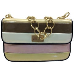 Chanel Patent Leather Pastel Flap Bag