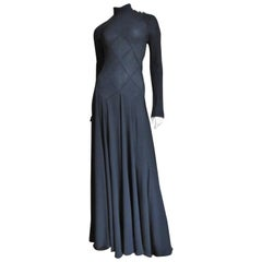 Calvin Klein Collection Maxi with Intricate Seaming
