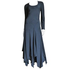 Jil Sander Scarf Hem Dress