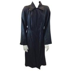 Dries Van Noten Black Trench Coat