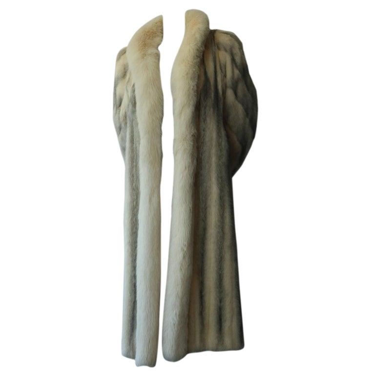 Christian Dior Vintage Fur Coat For Sale
