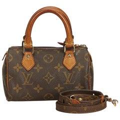 Louis Vuitton Brown Monogram Mini Speedy