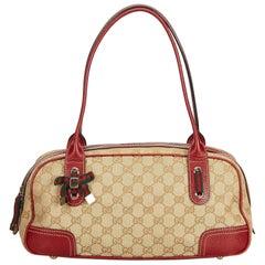 Gucci Brown x Beige x Multi Guccissima Princy Shoulder Bag