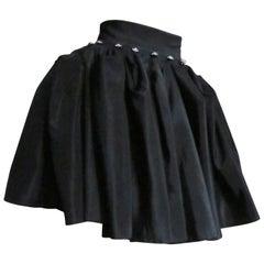 1990s Convertible Maxi Skirt