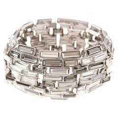 Simon Harrison Caddis Multi Baguette Crystal Bracelet
