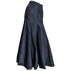 Angelo Tarlazzi 1990s Silk Maxi Skirt