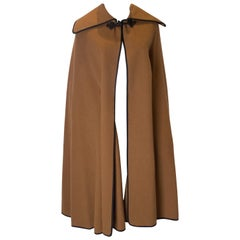Vintage Jaeger Wool and Camel Hair Cape