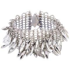 Simon Harrison Minerva Clustered Navette Chainmail Bracelet