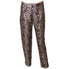 Vintage Brocade Trousers