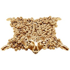 Simon Harrison Dionysus Gold Ram Medium Bracelet
