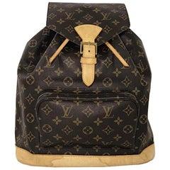 Louis Vuitton Monogram Montsouris GM Backpack Shoulder Handbag