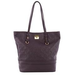 Louis Vuitton Citadine Handbag Monogram Empreinte Leather PM