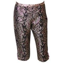 Vintage Brocade Shorts