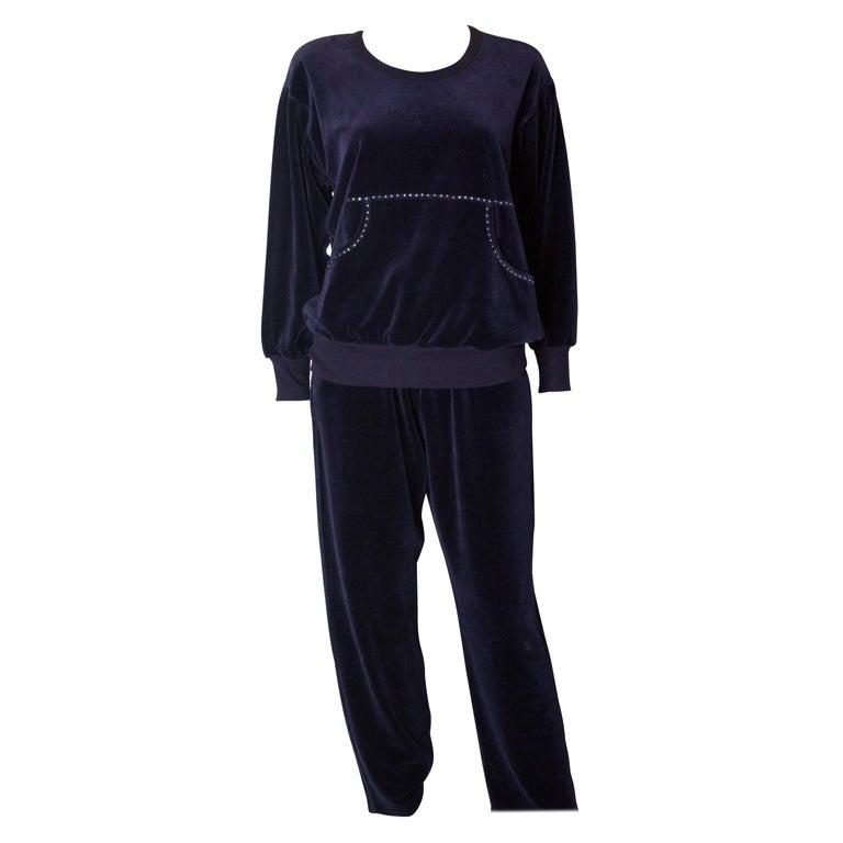 Vintage Sonia Rykiel Leisure Suit For Sale