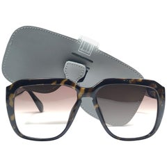 New Vintage Dunhill 6045 Oversized Camouflage Lenses Sunglasses France