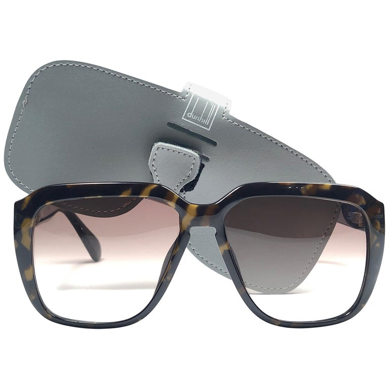 3f34f9b4dc New Vintage Dunhill 6045 Oversized Camouflage Lenses Sunglasses France For  Sale