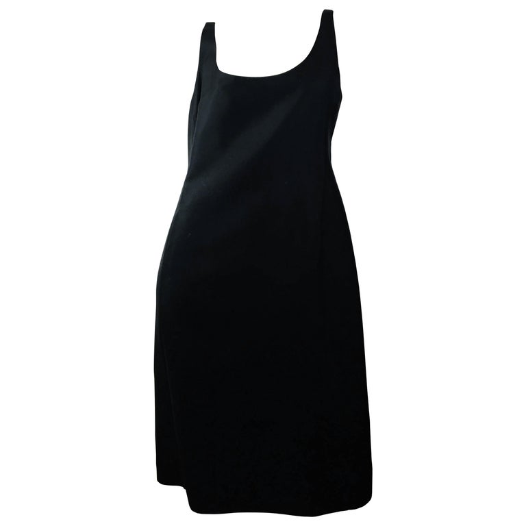 Prada Black  Sleeveless Dress  For Sale