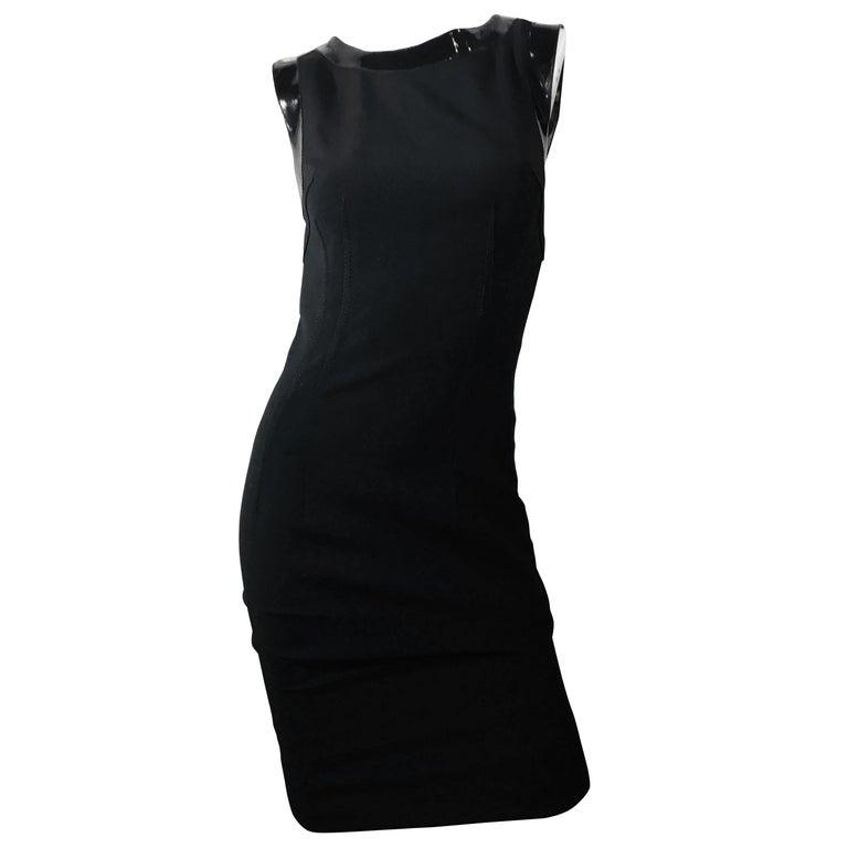 Dolce & Gabbana Black Sleeveless Dress For Sale