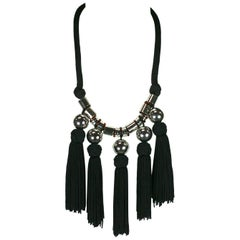 Yves Saint Laurent Chinese Passementerie Necklace
