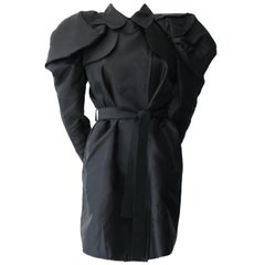 Dolce & Gabbana Black Trench Coat