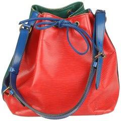 Louis Vuitton Vintage Multicolor Epi Leather Petit Noé Shoulder Bag