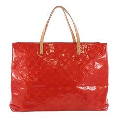 Louis Vuitton Reade Handbag Monogram Vernis GM