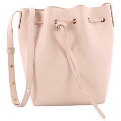 Mansur Gavriel Bucket Bag Leather Mini