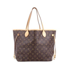 Louis Vuitton Neverfull Tote Monogram Canvas MM,