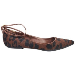 Multicolor Tom Ford Pony Hair Ballet Flats