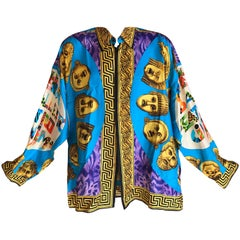 Gianni Versace Couture Opera Balleto Teatro Cinema Men's Silk Shirt XXL