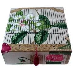 Andalouse Manuel Canovas Fabric Decorative Storage Box for Scarves