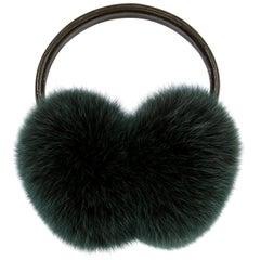 Verheyen London Ear Muffs in Olive