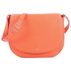 Celine Trotteur Messenger Bag Grainy Leather Medium