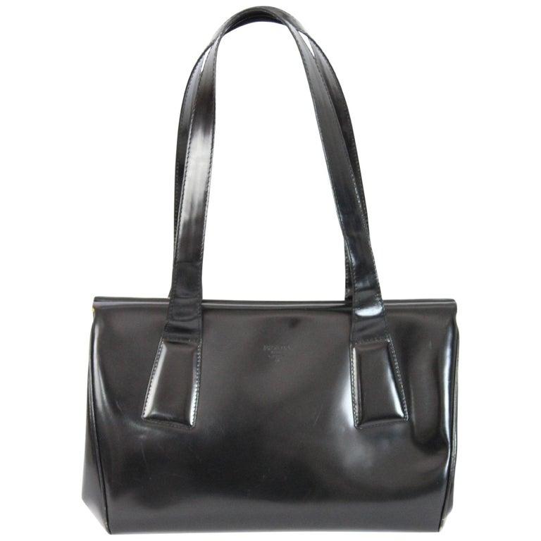 e9d3492749f1 2000s Prada Doctor Bag Black Patent Leather Vintage at 1stdibs