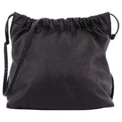 The Row Wander Elastic Shoulder Bag Leather Medium