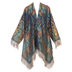 Morphew Swing Coat Kimono Jacket Made From 1940s Fabric