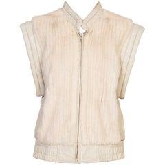 Mink & Leather Fur Vest
