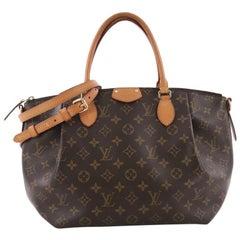 Louis Vuitton Turenne Handbag Monogram Canvas MM