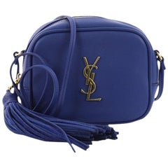 Saint Laurent Classic Monogram Blogger Crossbody Bag Leather Small