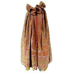 Indian Kashmir shawl Cape Coat Circa 1860/75