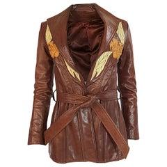 c.1973 East West Musical Instruments Co. 'Del Rose' Leather Jacket